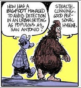 San Antonio Bigfoot
