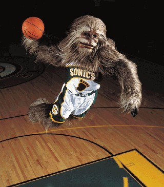 SuperSonics Squatch
