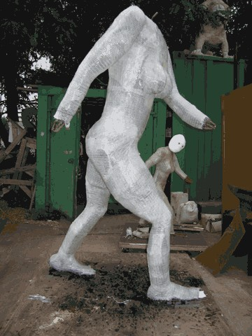 Gainer Bigfoot Sculpture
