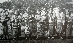 Ainu, the indigenous people of Japan