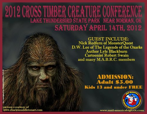 Cross Timbers Creature Conference
