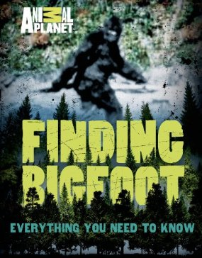 Finding Bigfoot Book