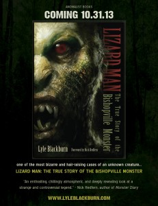 Lizard Man Book Ad