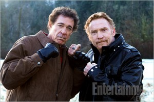 Barry Williams 'n Danny Bonaduce AKA greg Brady and Danny Partridge