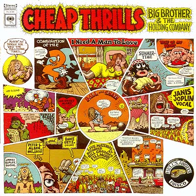 R. Crumb Big Brother &#038; The Holding Company Cheap Thrills