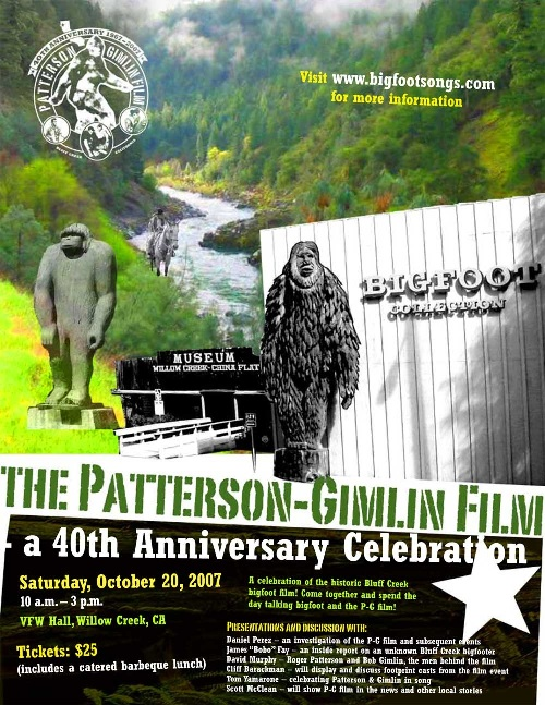 Patterson-Gimlin Film 40th Anniversary Celebration