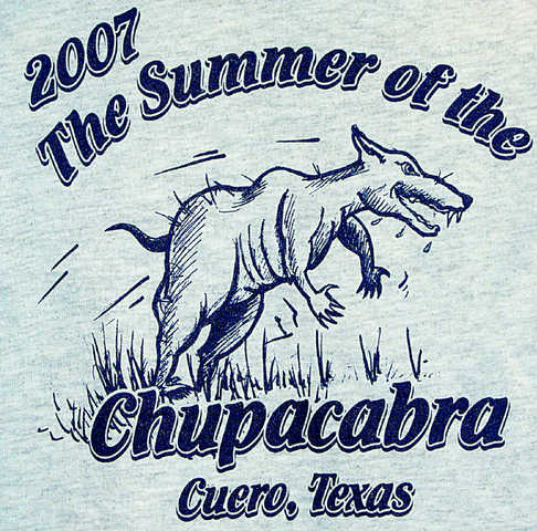 texas chupacabra t shirt
