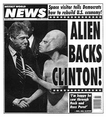 clinton alien