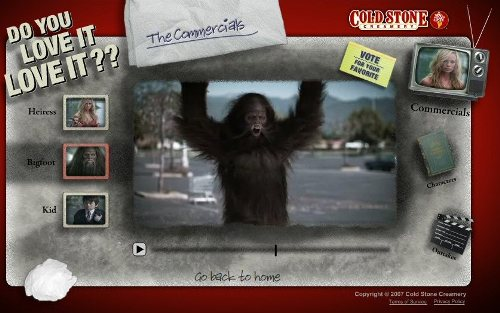 Cold Stone Creamery Bigfoot