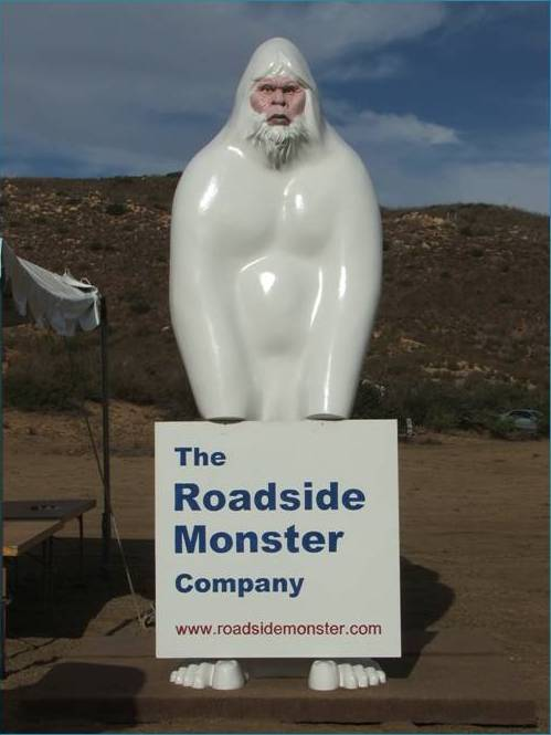 Roadside Bigfoot
