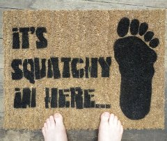 squatchy doormat