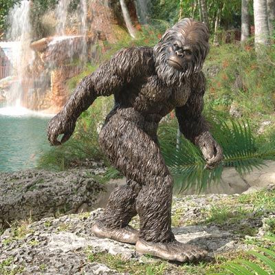 Bigfoot the Garden Yeti